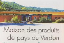 Maison de Produits de Pays du Verdon, Allemagne en Provence, France