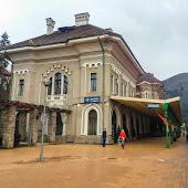 Железнодорожная станция  Sinaia