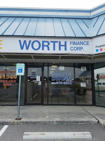 Worth Finance Corporation Payday Loans Picture