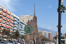 Monumento a la Peseta, Fuengirola, Spain