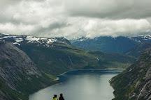 Trolltunga Zippen, Odda, Norway
