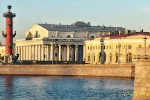 Birzhevoi (Exchange) Bridge, St. Petersburg, Russia