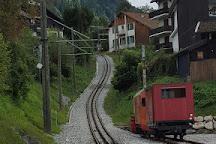 Mont-Blanc Tramway Tramway du Mont-Blanc, Saint-Gervais-les-Bains, France