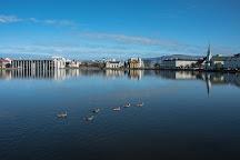 Lake Tjornin, Reykjavik, Iceland
