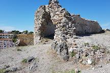 Ruderi Del Castello Normanno, Scalea, Italy