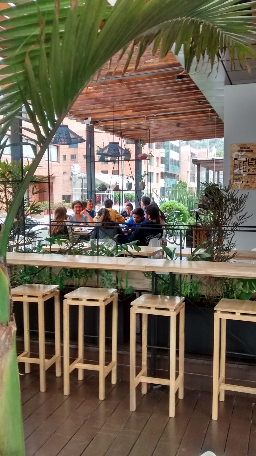 Azahar Café: A Work-Friendly Place in Bogota