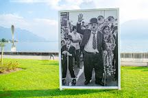 Charlie Chaplin Statue, Vevey, Switzerland
