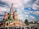 Покровский собор, улица Анатолия на фото Барнаула