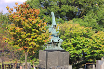 Kato Kiyomasa Statue, Kumamoto, Japan
