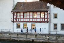 Chapel Bridge (Kapellbrucke), Lucerne, Switzerland