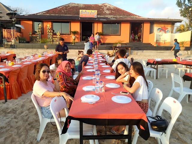 The Cuisine Seafood Cafe, Jimbaran Bay-Bali