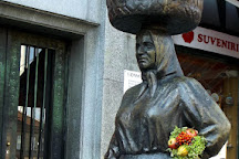 Statue of Kumica Barica, Zagreb, Croatia