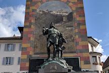 Wilhelm Tell Monument, Altdorf, Switzerland