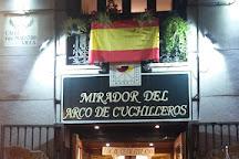 Arco de Cuchilleros, Madrid, Spain