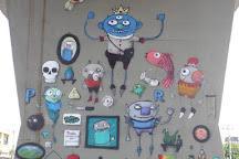Open Museum of Urban Art - MAAU SP, Sao Paulo, Brazil