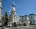 Храм Рождества Пресвятой Богородицы в Путинках, Дегтярный переулок, дом 8, строение 2 на фото Москвы