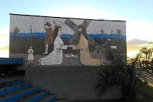 Painel I da Via Sacra, Goiania, Brazil