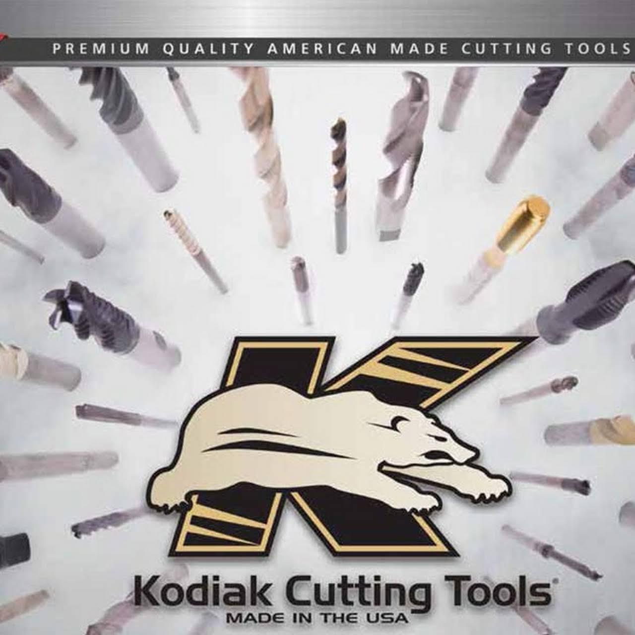 3//4 Diameter Single Flute 82 Degree Kodiak Cutting Tools KCT118996 USA Made Solid Carbide Countersink