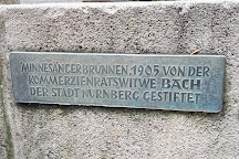 Minnesangerbrunnen, Nuremberg, Germany