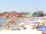 Соломенный пляж Бердянская коса