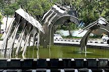 Hornbill Fountain, Kuching, Malaysia