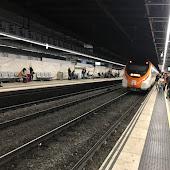 Железнодорожная станция  Barcelona Paseo De Gracia