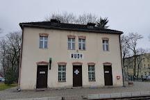 The Historic Narrow-Gauge Railway Station, Rudy, Poland