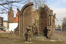 Monument Gottingen Sieben, Hannover, Germany