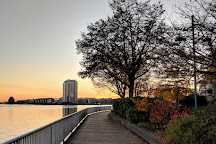 Waterfront Park and Esplanade, New Westminster, Canada