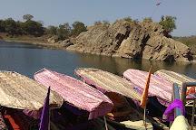 Marble Rocks at Bhedaghat, Jabalpur, India