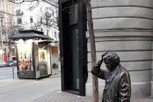 Columbo Statue, Budapest, Hungary
