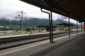 Железнодорожная станция  Schwaz