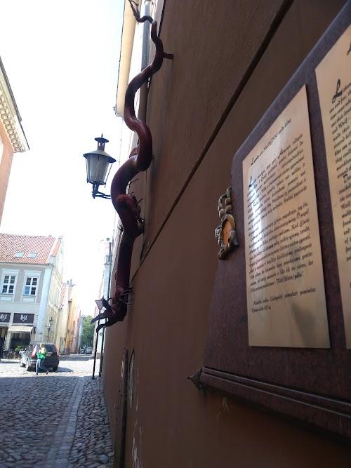 Drakonas Ir Legenda Apie KLAIPĖDÒS vardo Kilmę