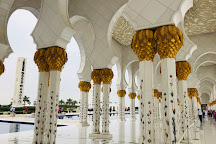 Sheikh Zayed Grand Mosque, Abu Dhabi, United Arab Emirates