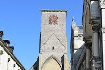 Collegiale Saint Martin et Tour Charlemagne, Tours, France