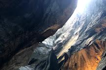 Trummelbach Gletscherwasserfalle - this is not an official place to visit, Lauterbrunnen, Switzerland