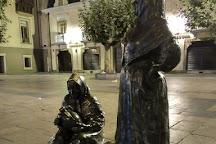 Plaza del Fontan, Oviedo, Spain