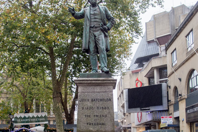 Statue of John Batchelor, Cardiff, United Kingdom