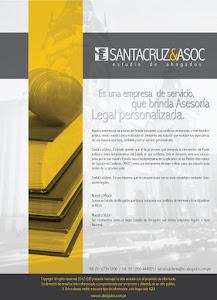 SantaCruz & Asociados - Estudio de Abogados. Dr. Javier Santa Cruz G. 4