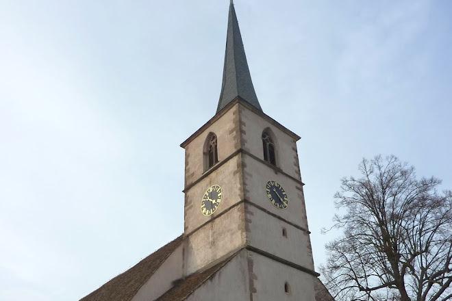 Eglise Protestante, Mittelbergheim, France