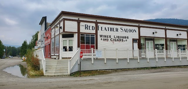 Red Feather Saloon, Lieu historique national du Complexe-Historique-de-Dawson