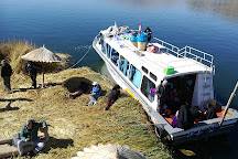 Uros Floating Islands, Puno, Peru