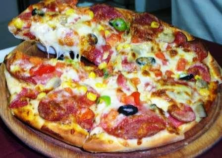 Anstella Pizza Ve Makarna Resim 8