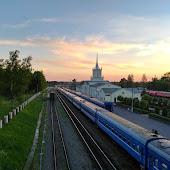 Железнодорожная станция  Dno