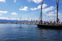 Le Port d'Ouchy, Lausanne, Switzerland