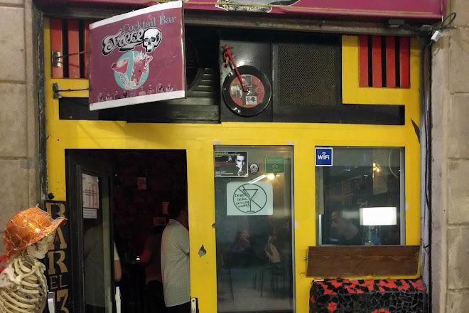 El trece bar, Barcelona, Spain