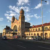 Железнодорожная станция  Prague Praha hl. n.