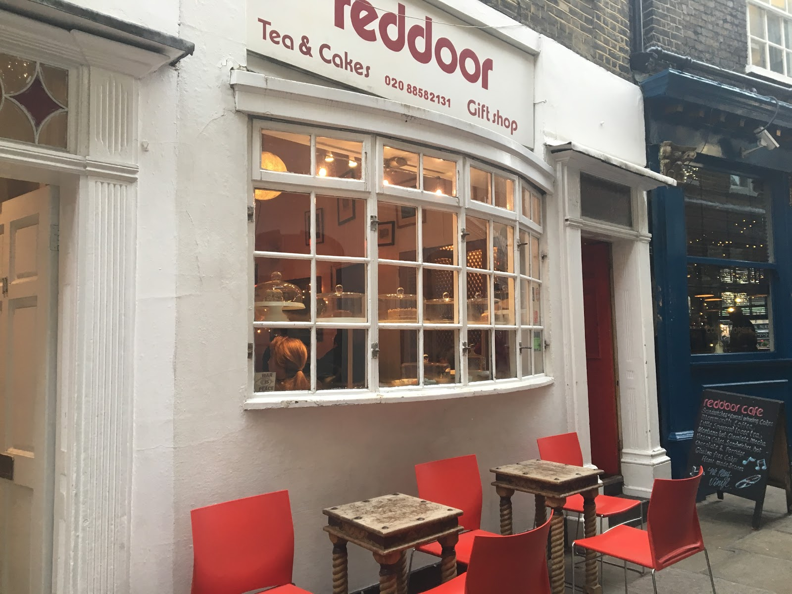 Red Door: A Work-Friendly Place in London