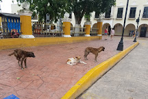 Plaza e Parque Francisco Canton, Valladolid, Mexico
