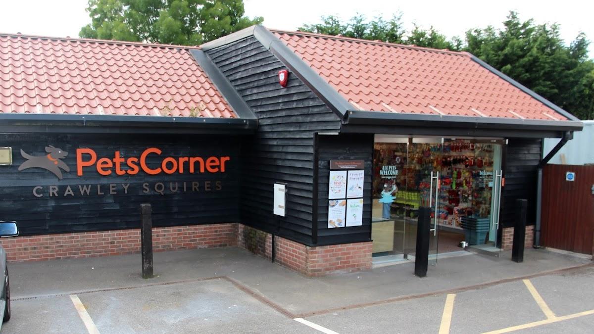 Pets Corner Crawley Squires store